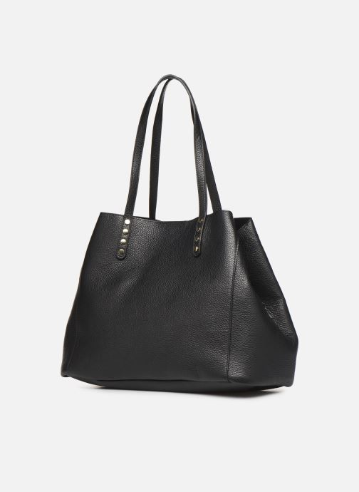 Sacs à main Georgia Rose Ubago Leather Noir vue droite