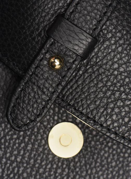 Sacs à main Georgia Rose Ulune Leather Noir vue gauche