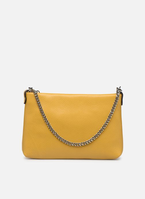 Bolsos de mano Georgia Rose Ugadi Leather Amarillo vista de frente