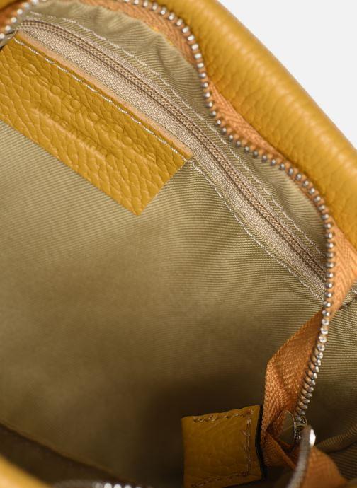 Handtassen Georgia Rose Ugadi Leather Geel achterkant