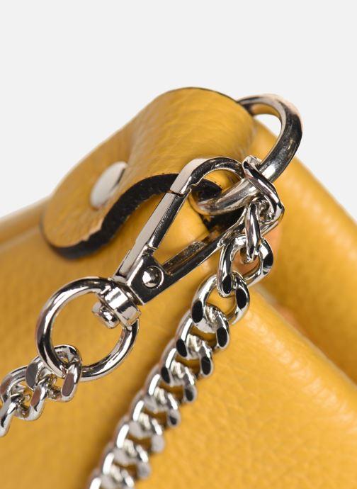 Handtaschen Georgia Rose Ugadi Leather gelb ansicht von links