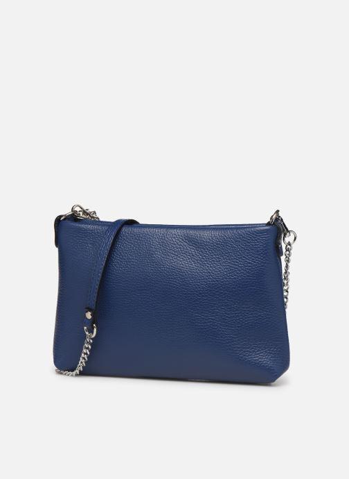 Bolsos de mano Georgia Rose Ugadi Leather Azul vista del modelo