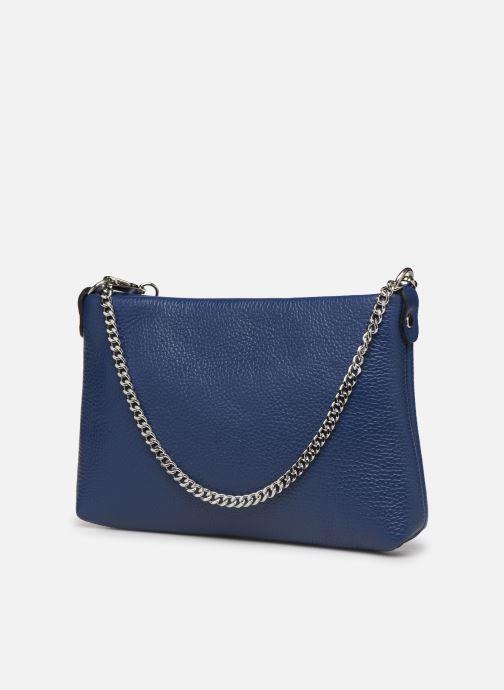 Bolsos de mano Georgia Rose Ugadi Leather Azul vista lateral derecha