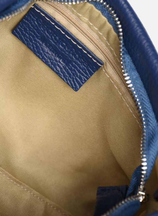 Handtassen Georgia Rose Ugadi Leather Blauw achterkant