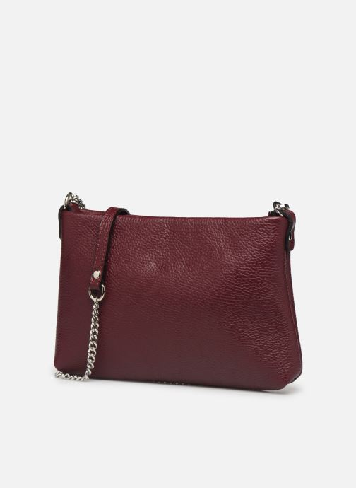 Handtassen Georgia Rose Ugadi Leather Bordeaux model