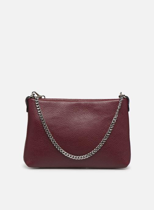 Håndtasker Georgia Rose Ugadi Leather Bordeaux se forfra