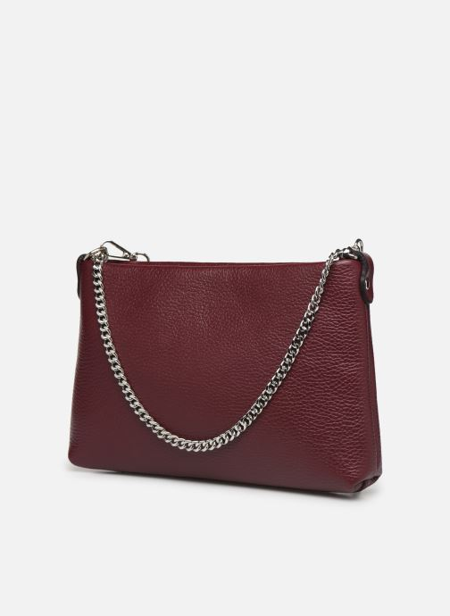 Handbags Georgia Rose Ugadi Leather Burgundy view from the right