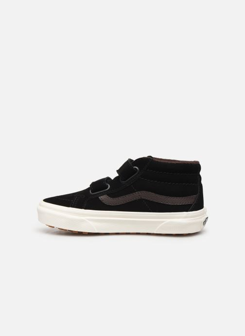 Sneakers Vans Uy Sk8-Mid Reissue V Mte Zwart voorkant