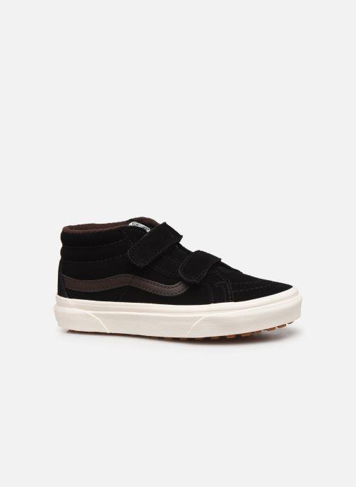 Sneakers Vans Uy Sk8-Mid Reissue V Mte Zwart achterkant