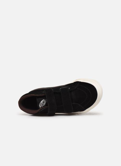 Sneakers Vans Uy Sk8-Mid Reissue V Mte Zwart links