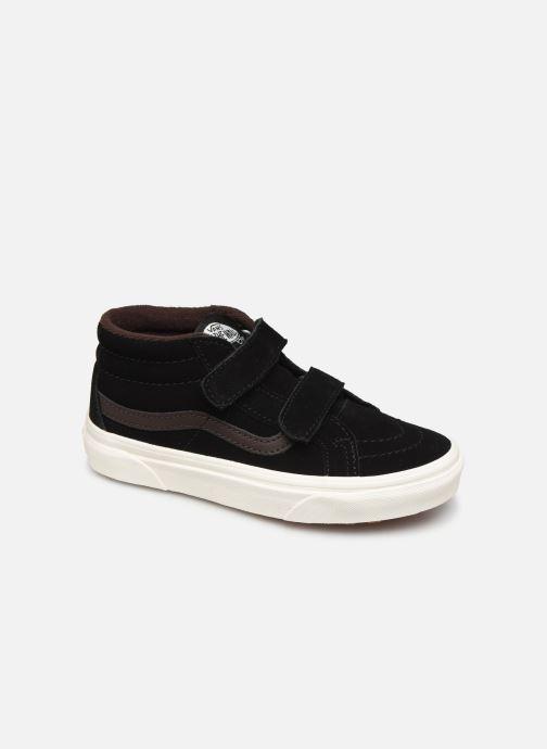 Sneakers Vans Uy Sk8-Mid Reissue V Mte Zwart detail