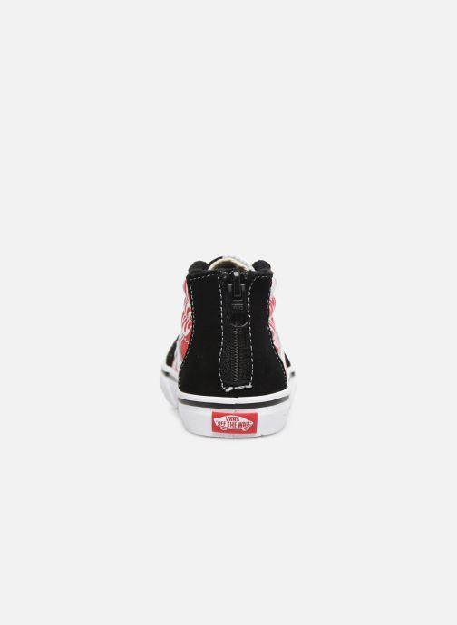 Baskets Vans Sk8-Hi BB Noir vue droite