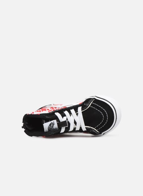Baskets Vans Sk8-Hi BB Noir vue gauche