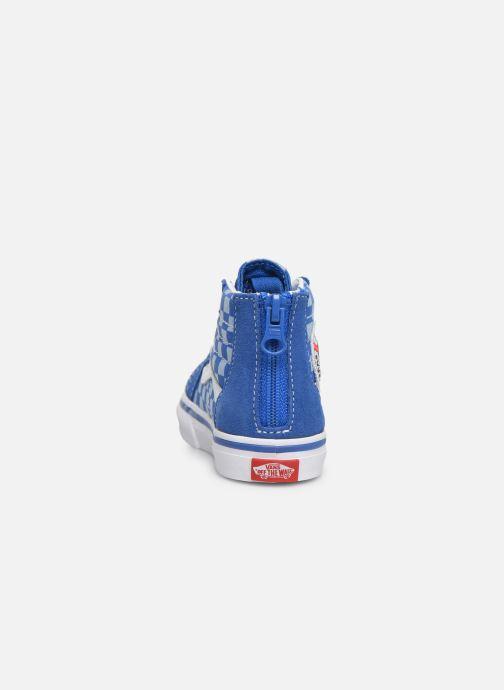 Sneakers Vans Sk8-Hi BB Blauw rechts