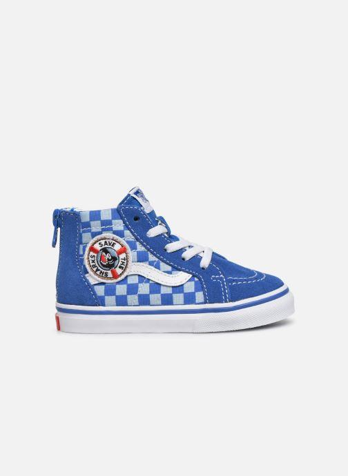 Sneakers Vans Sk8-Hi BB Blauw achterkant