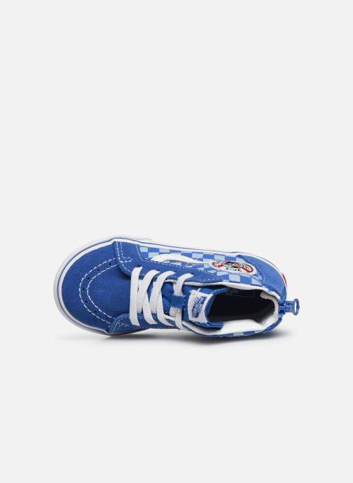 Sneakers Vans Sk8-Hi BB Azzurro immagine sinistra
