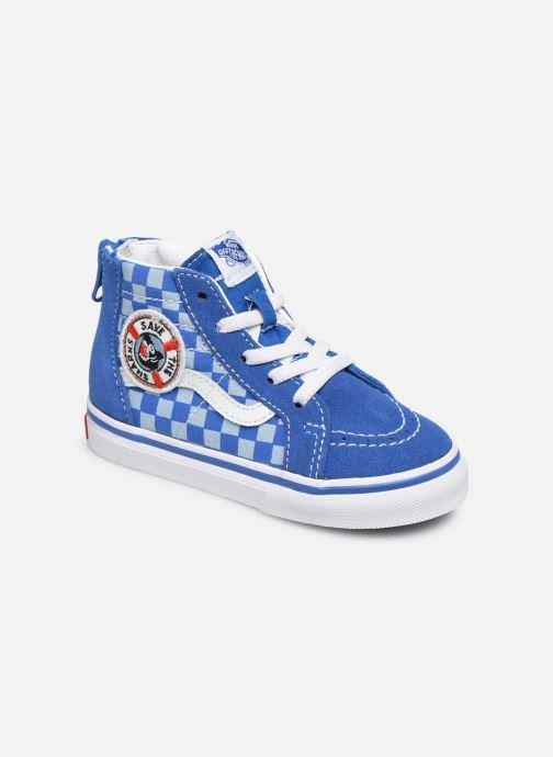 Sneakers Vans Sk8-Hi BB Blauw detail