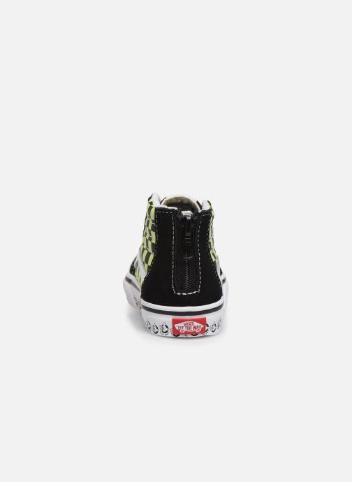 Sneakers Vans Sk8-Hi BB Zwart rechts