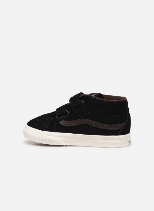 Sneakers Vans Td Sk8-Mid Reissue V Zwart voorkant