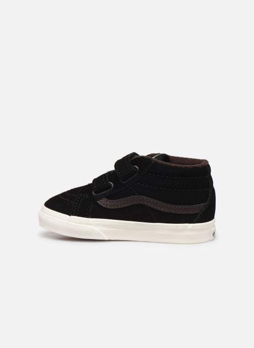 Sneakers Vans Td Sk8-Mid Reissue V Nero immagine frontale