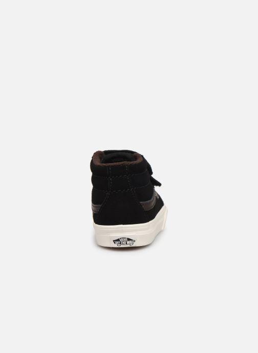 Sneakers Vans Td Sk8-Mid Reissue V Nero immagine destra