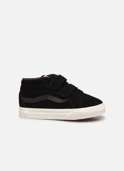 Sneakers Vans Td Sk8-Mid Reissue V Zwart achterkant