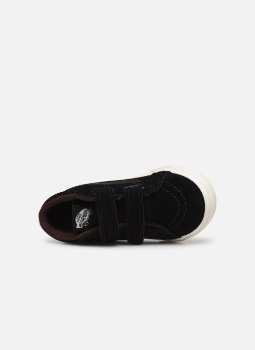 Sneaker Vans Td Sk8-Mid Reissue V schwarz ansicht von links