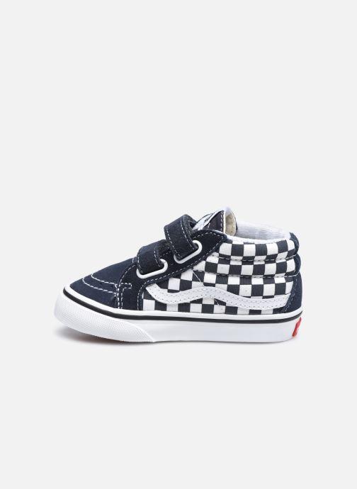 Sneaker Vans Td Sk8-Mid Reissue V grau ansicht von vorne