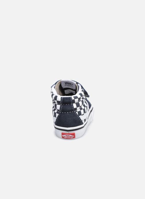 Sneaker Vans Td Sk8-Mid Reissue V grau ansicht von rechts