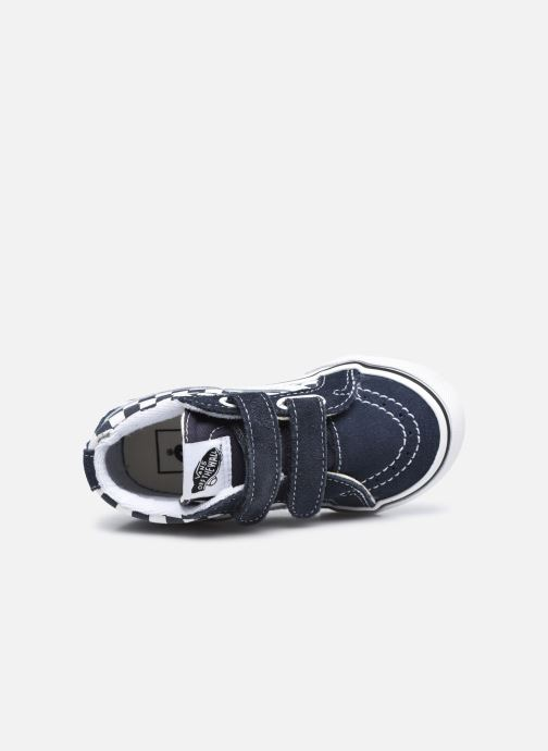 Sneaker Vans Td Sk8-Mid Reissue V grau ansicht von links