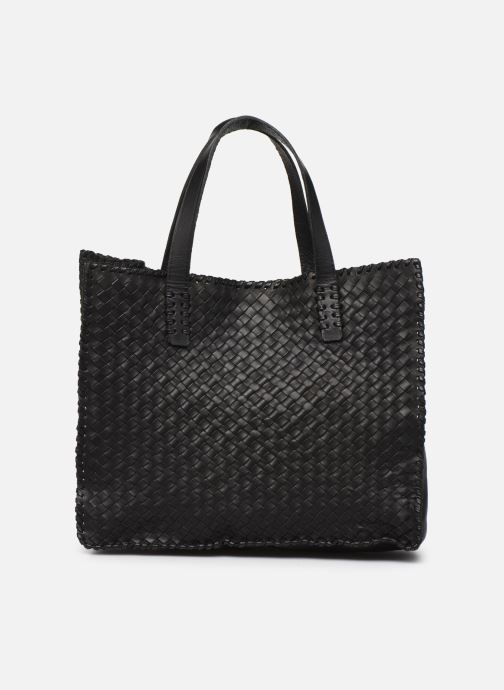 Handtassen Dragon Diffusion INTERLACED POLO BOX SMALL Zwart voorkant