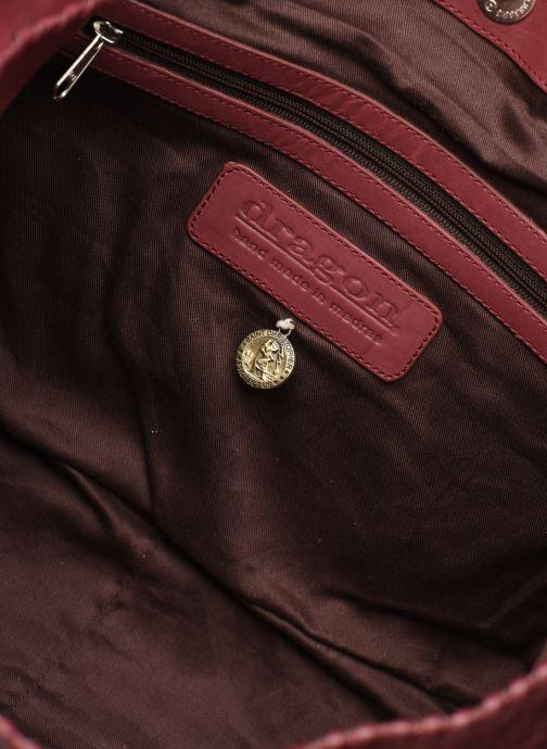 Handtassen Dragon Diffusion INTERLACED POLO BOX SMALL Rood achterkant