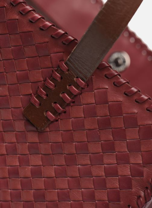 Handtassen Dragon Diffusion INTERLACED POLO BOX SMALL Rood links