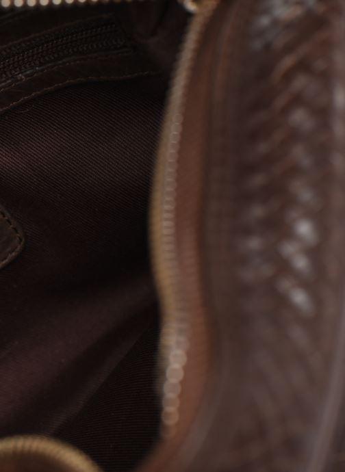 Sacs à main Dragon Diffusion KIT NAT Marron vue derrière