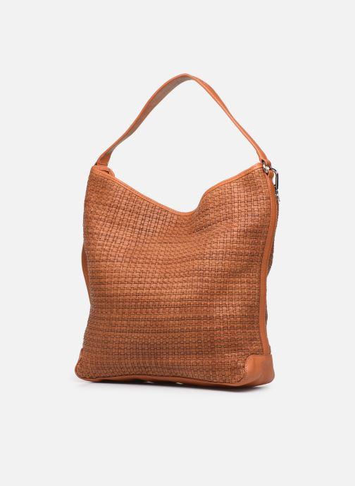 Handtassen Dragon Diffusion JANE BAG Bruin model