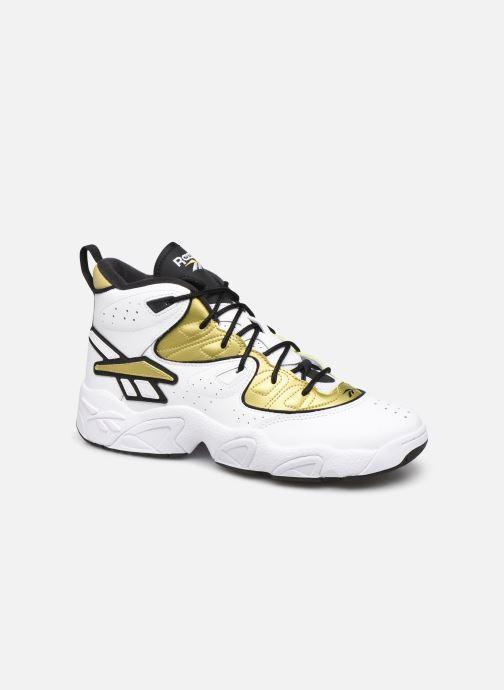 Baskets Reebok Avant Guard Blanc vue détail/paire