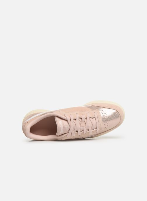 Trainers Reebok Club C Revenge W Pink view from the left