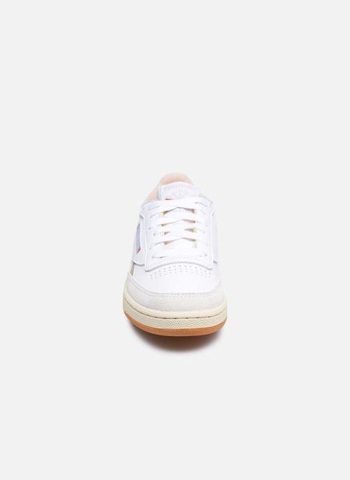 Sneakers Reebok Club C Revenge W Bianco modello indossato