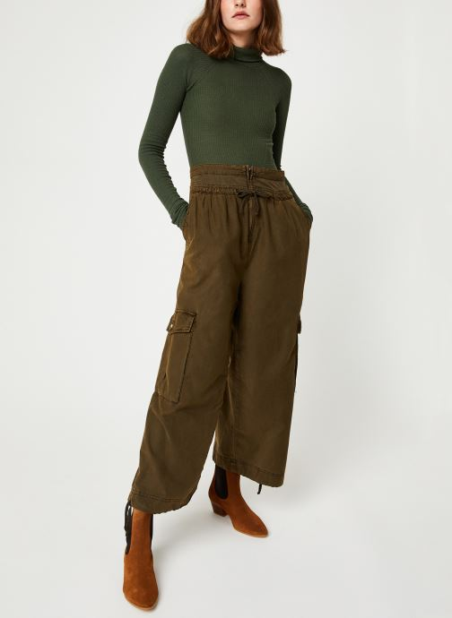 Vêtements Free People ALL YOU WANT BODYSUIT Vert vue bas / vue portée sac