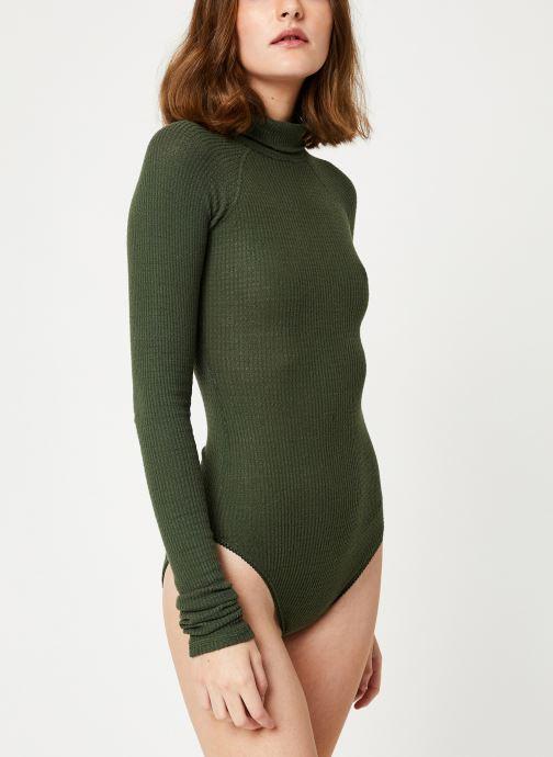 Vêtements Free People ALL YOU WANT BODYSUIT Vert vue droite