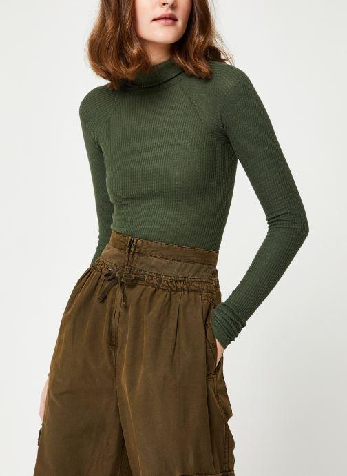 Vêtements Free People ALL YOU WANT BODYSUIT Vert vue détail/paire