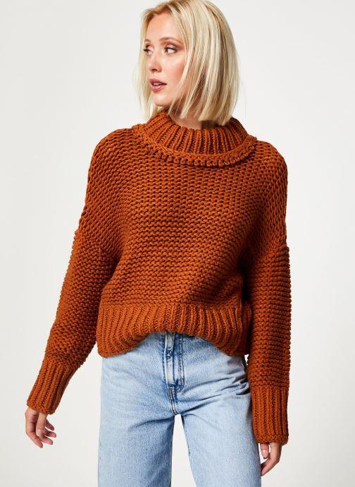 Vêtements Free People MY ONLY SUNSHINE Orange vue détail/paire