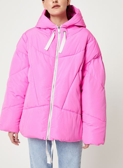 Vêtements Free People HAILEY PUFFER Rose vue droite