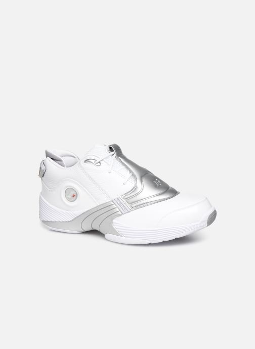 Baskets Reebok Answer V Blanc vue détail/paire