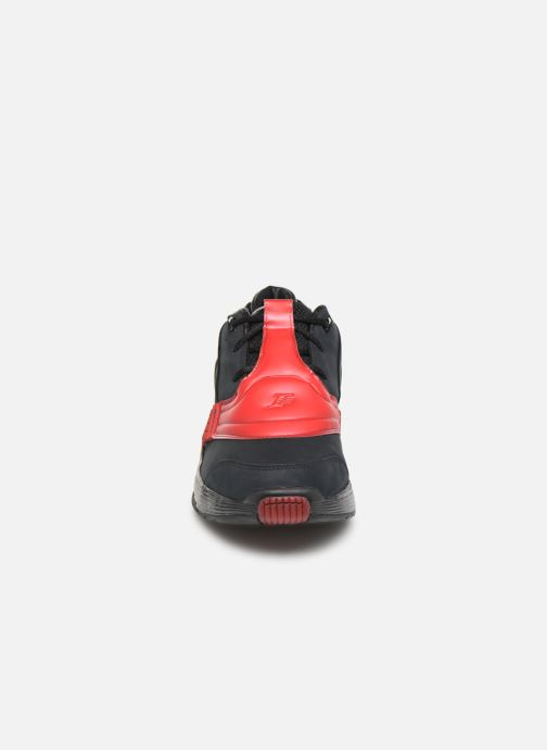 Sneaker Reebok Answer V schwarz schuhe getragen