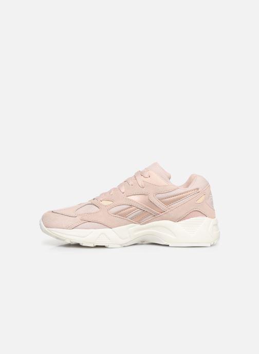 Sneakers Reebok Aztrek 96 W Rosa immagine frontale