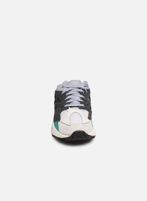 Sneaker Reebok Aztrek 96 W grau schuhe getragen