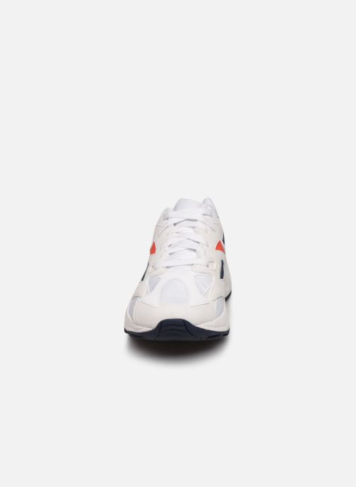 Sneaker Reebok Aztrek 96 W weiß schuhe getragen