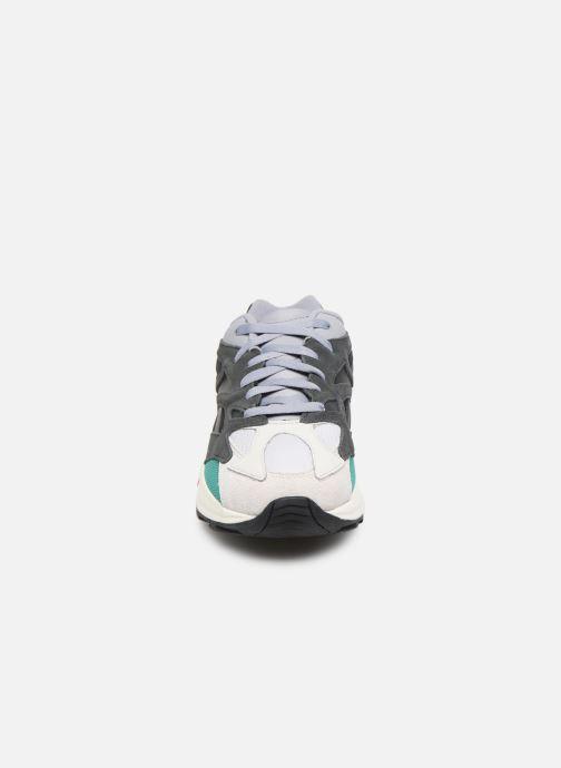 Sneaker Reebok Aztrek 96 grau schuhe getragen