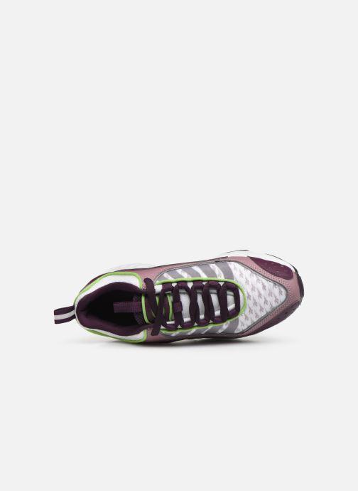 Baskets Reebok Daytona Dmx II Violet vue gauche